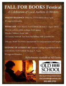 musquodoboit harbour literary event